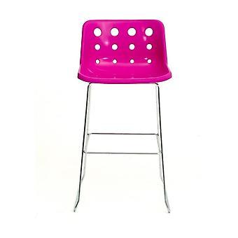 Loft Robin Day Skid Roze plastic Polo barkruk