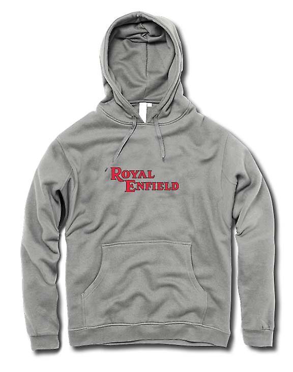 Mens-Hoodie - Royal Enfield Logo - klassische Motorrad