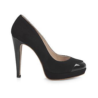 Mayfair platform black shoes