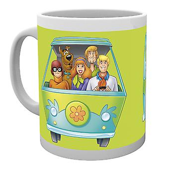 Scooby Doo Mystery Wagon Boxed picia kubek