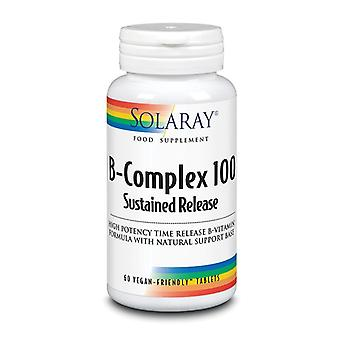 Solaray B-Complex 100 Sustained Release Tablets 60 (1228)