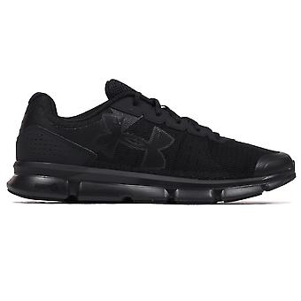 Under Armour Micro G Speed Swift Mens Running Trainer Shoe Triple Black