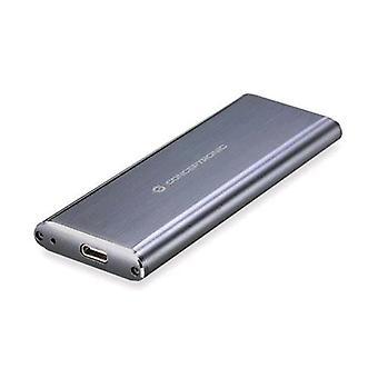 Conceptronic hde01g box leeg voor SSD m. 2 SATA II-III USB-interface 3,0 grijze kleur
