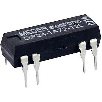 Reed relay 1 maker 24 Vdc 0.5 A 10 W DIP 8 StandexMeder Electronics