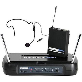 Headset Wireless microphone set LD Systems ECO 2 Transfer type:Radio