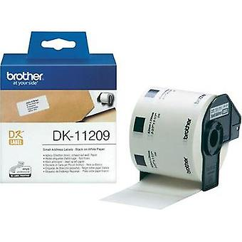 Brother Labels (roll) 62 x 29 mm Paper White 800 p