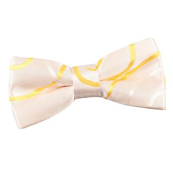 Boy's Scroll Gold Bow Tie