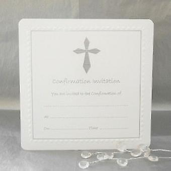 Luxury Pack of 10 Confirmation Invitations