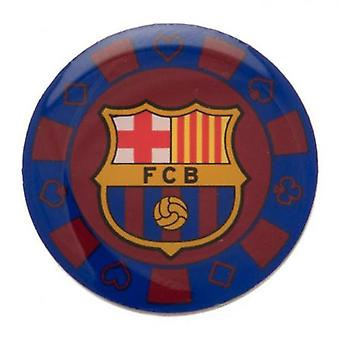 Barcelona Poker Chip Badge