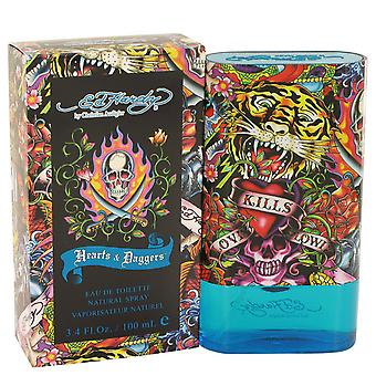 Hearts And Daggers By Ed Hardy Edt Spray 100ml