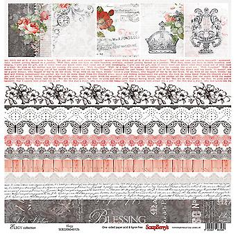 ScrapBerry de Elegy ' Single-Sided Cardstock 12