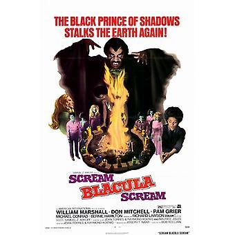 Scream Blacula Scream filmaffisch (11 x 17)