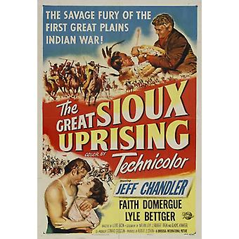 The Great Sioux Uprising Movie Poster Print (27 x 40)