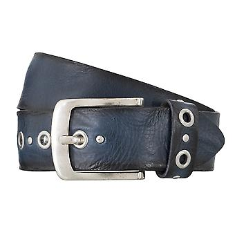 BERND GÖTZ belts men's belts leather belt walking leather blue 4833