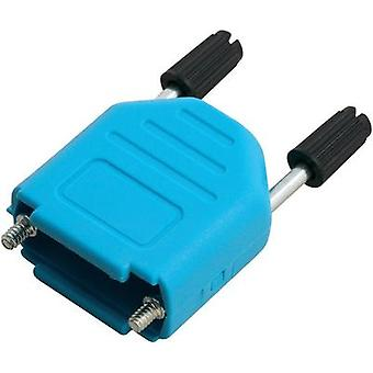 D-SUB housing Number of pins: 9 Plastic 180 ° Blue MH Connectors MHDPPK09-B-K 1 pc(s)