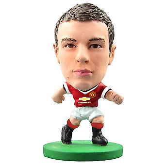 SoccerStarz figura Manchester unida Inicio Kit de Jonny Evans