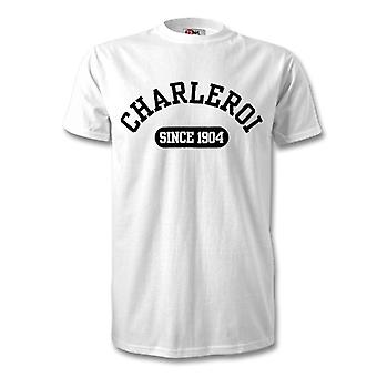 Sporting Charleroi 1904 Established Football T-Shirt