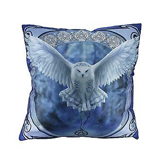 Anne Stokes wecken Ihre magischen 20-Zoll-Eule Throw Pillow