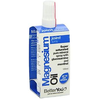 BetterYou, Magnesium Oil Joint Spray, 100ml