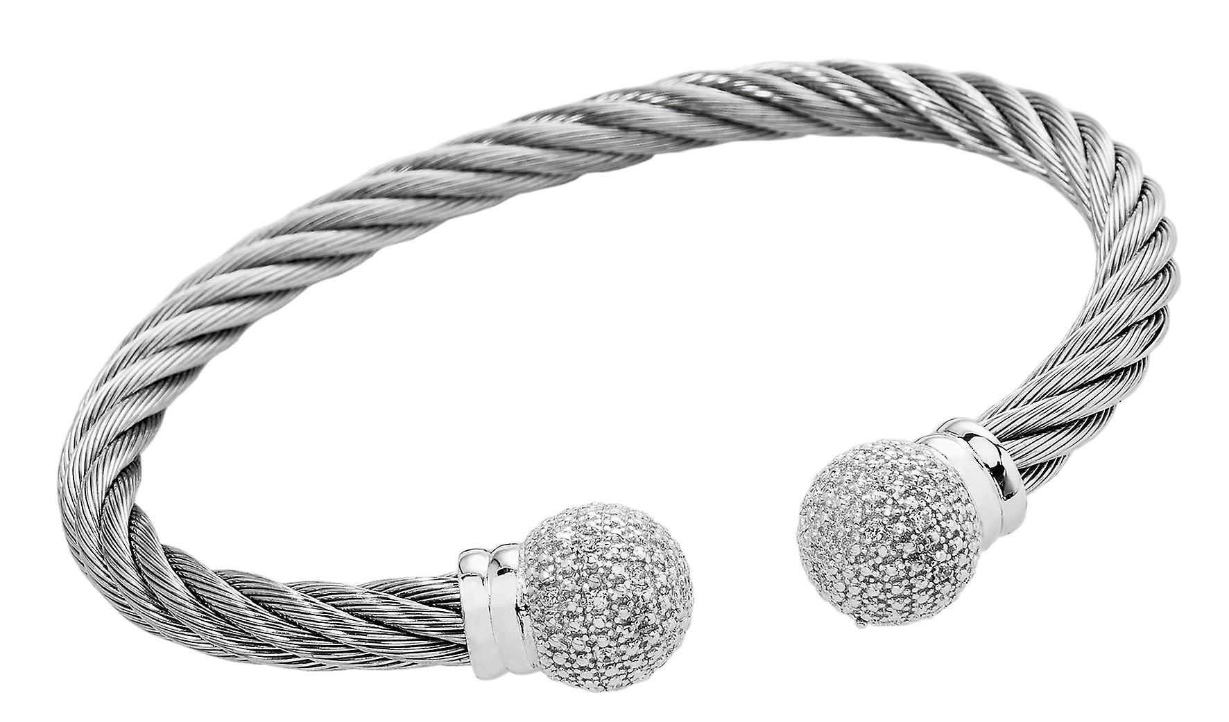 Burgmeister Bangle with Cubic Zirconia JBM3024-521