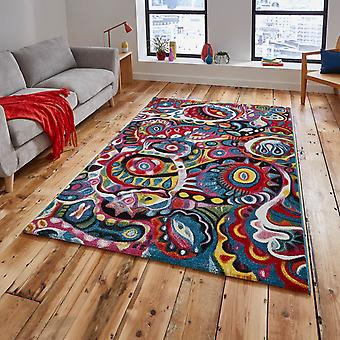 Sunrise Multi-Coloured Rugs Y583A