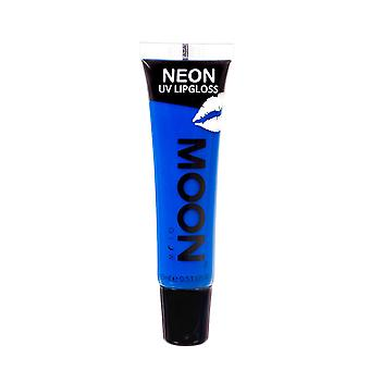 Moon Glow - Neon UV Lip Gloss – 15ml Blue Bubblegum