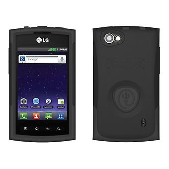 Trident Aegis Case for LG Optimus M+ / MS695 (Black/Black)