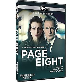 Page Eight [DVD] USA import