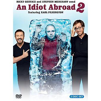 An Idiot Abroad: Season 2 [2 Discs] [DVD] USA import
