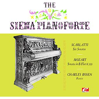 Scarlatti / Mozart / Rosen, Charles - seks sonater / Piano Sonata nei 13 [DVD] USA import
