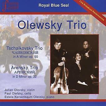 Olevsky, Julian & Olefsky/Olevsky - import USA Olewsky Trio [CD]
