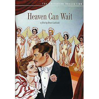 Heaven Can Wait (1943) [DVD] USA import