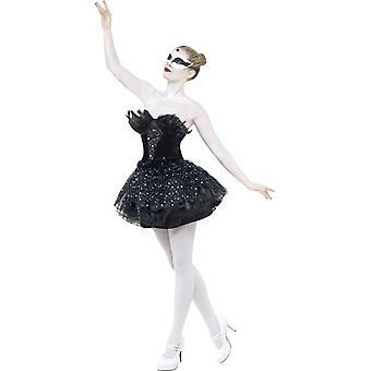 Ballet dress Swan Tutu with feather Black Swan Halloween