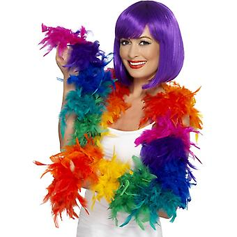 Rainbow feather BOA BOA 80 g Gay Pride Rainbow springs