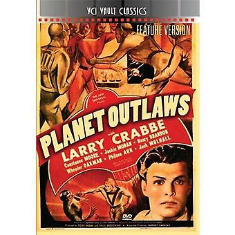 Planet Outlaws [DVD] USA import