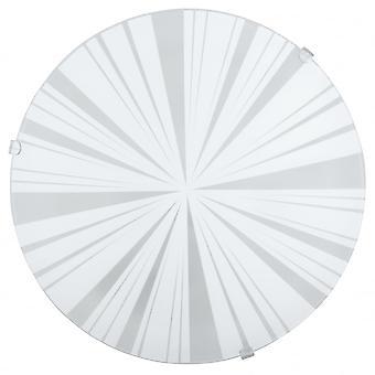 Eglo Mars1 1 licht traditionele Flush wand/plafond licht circulaire