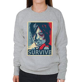 Walking Dead Daryl Dixon Hes inga tik kvinnors tröja