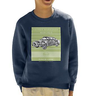 Haynes Workshop Manual 0303 Skoda 110R Stripe Kid's Sweatshirt