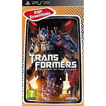Transformers Revenge of the Fallen Essentials Edition PSP Game
