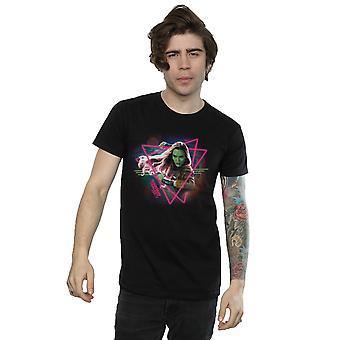 Förundras över mäns väktare av galaxen Neon Gamora T-Shirt