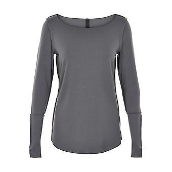 Henriette Steffensen Ladies Jersey long sleeve shirt grey