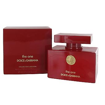 Dolce & Gabbana The One Collector's Edition 75ml Eau de Parfum Spray for Women