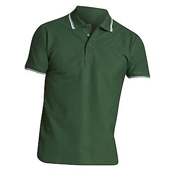 SOLS Mens Practice Tipped Pique Short Sleeve Polo Shirt