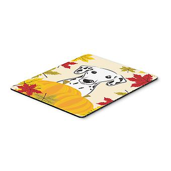 Dalmatian Thanksgiving Mouse Pad, Hot Pad or Trivet