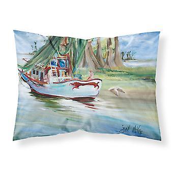 Jeannie Shrimp Boat Fabric Standard Pillowcase