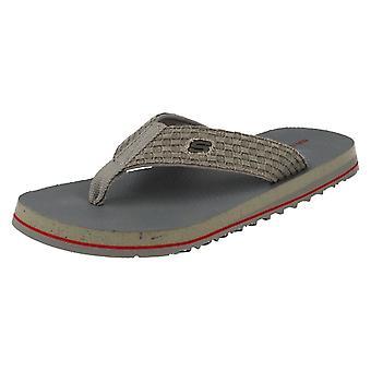 Herre Skechers Surf Combers tå indlæg sandaler Agilis 63000