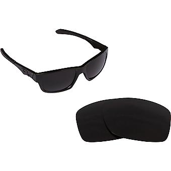 JUPITER CARBON Replacement Lenses Polarized Black by SEEK fits OAKLEY Sunglasses