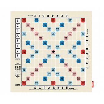 Scrabble Game Board Tea Towel by Wild & Wolf