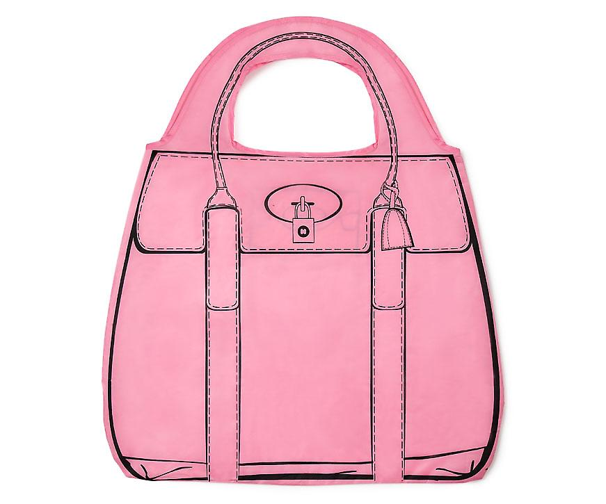 Shopperholic Shopping Bag - Pink