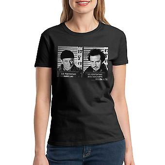 Home Alone US Penitentiary Women's Black T-shirt